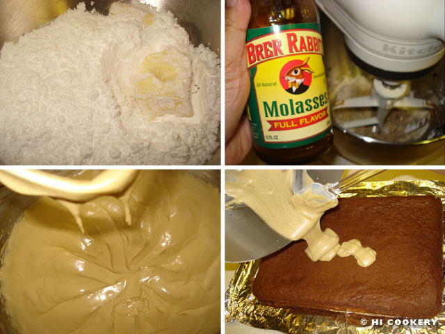 Frosted Molasses Bars