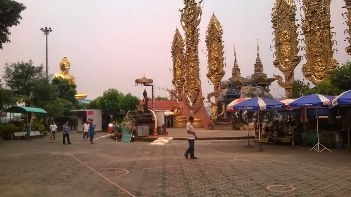 Tempel am Goldenen Dreieck