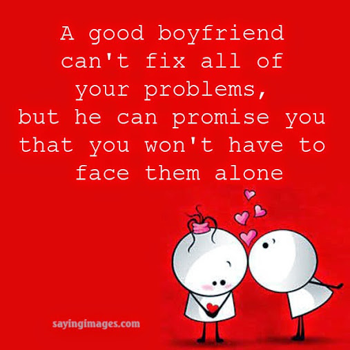 quotation about boyfriend