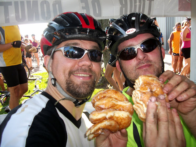 Eating Donuts at the Tour de Donut