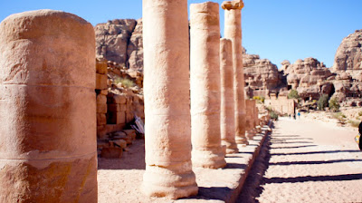 The 'main street' of Petra Valley