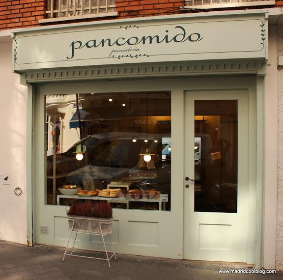 MADRID COOL BLOG panadería PANCOMIDO fachada francesa guía madrid