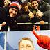 Schweinsteiger tira selfie com o irmão nas arquibancadas do estádio do Augsburg
