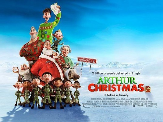 Watch Arthur Christmas Free Online Movie Full Download