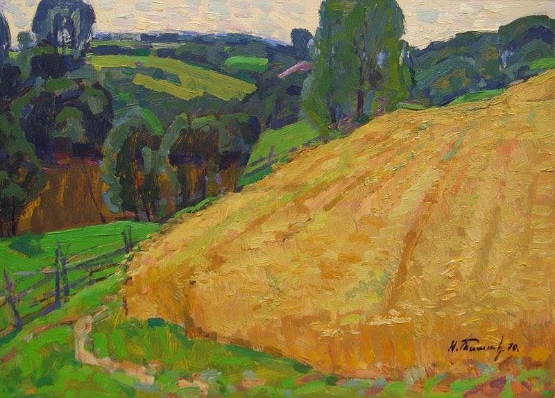 Nikolai Timkov - A Field. 1976.