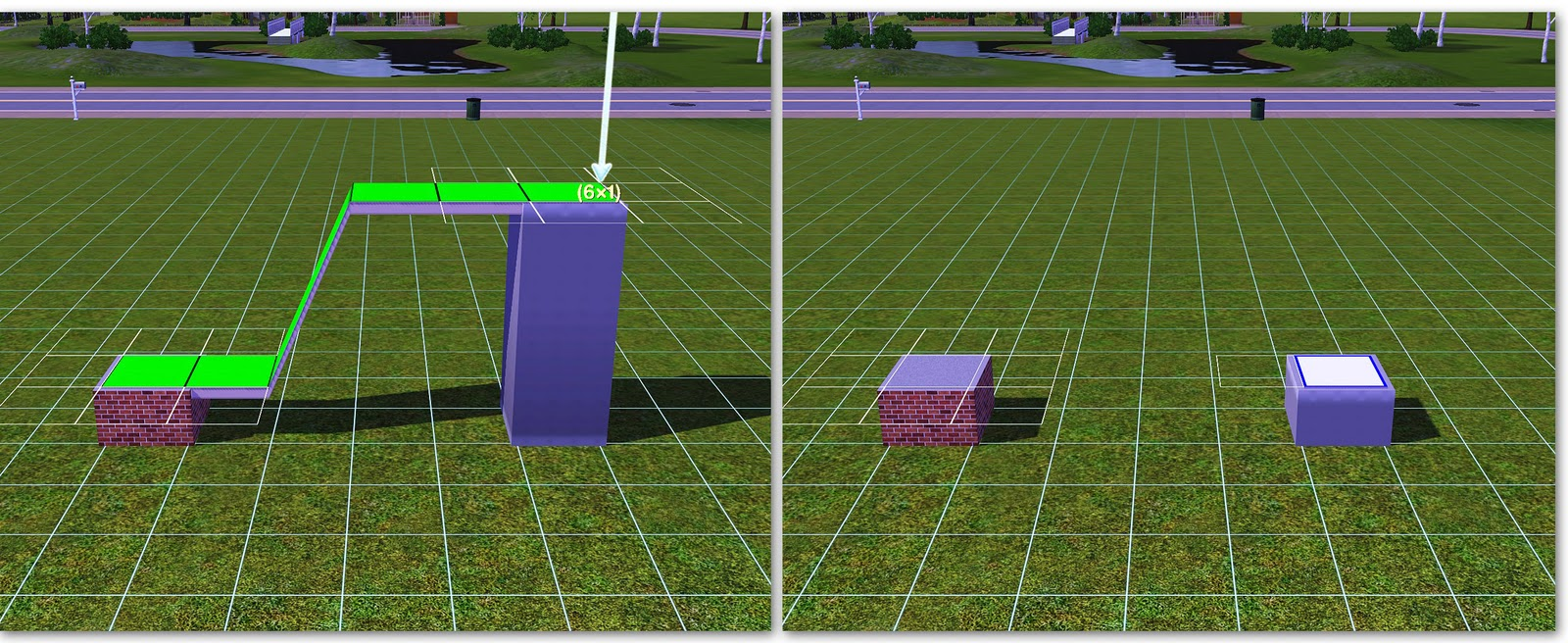Sims Floor Elevation Cheat : Why plumbobs are green custom cfe fencing