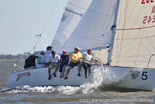J/30 one-design cruiser racer sailboat- sailing North Americans