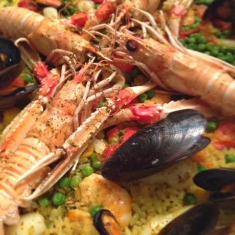 Mille Ricette E Una Bionda Paella Di Pesce Cotta Al Forno