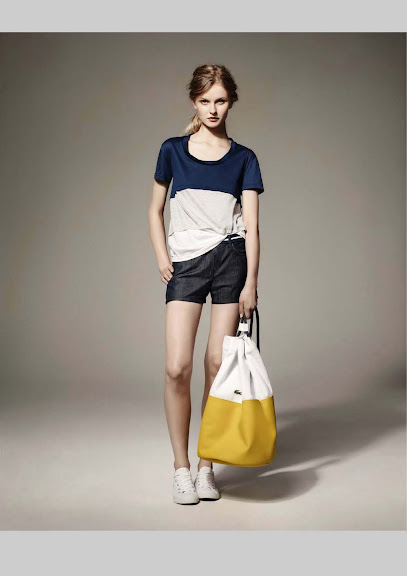 Lacoste lookbook primavera verano 2012