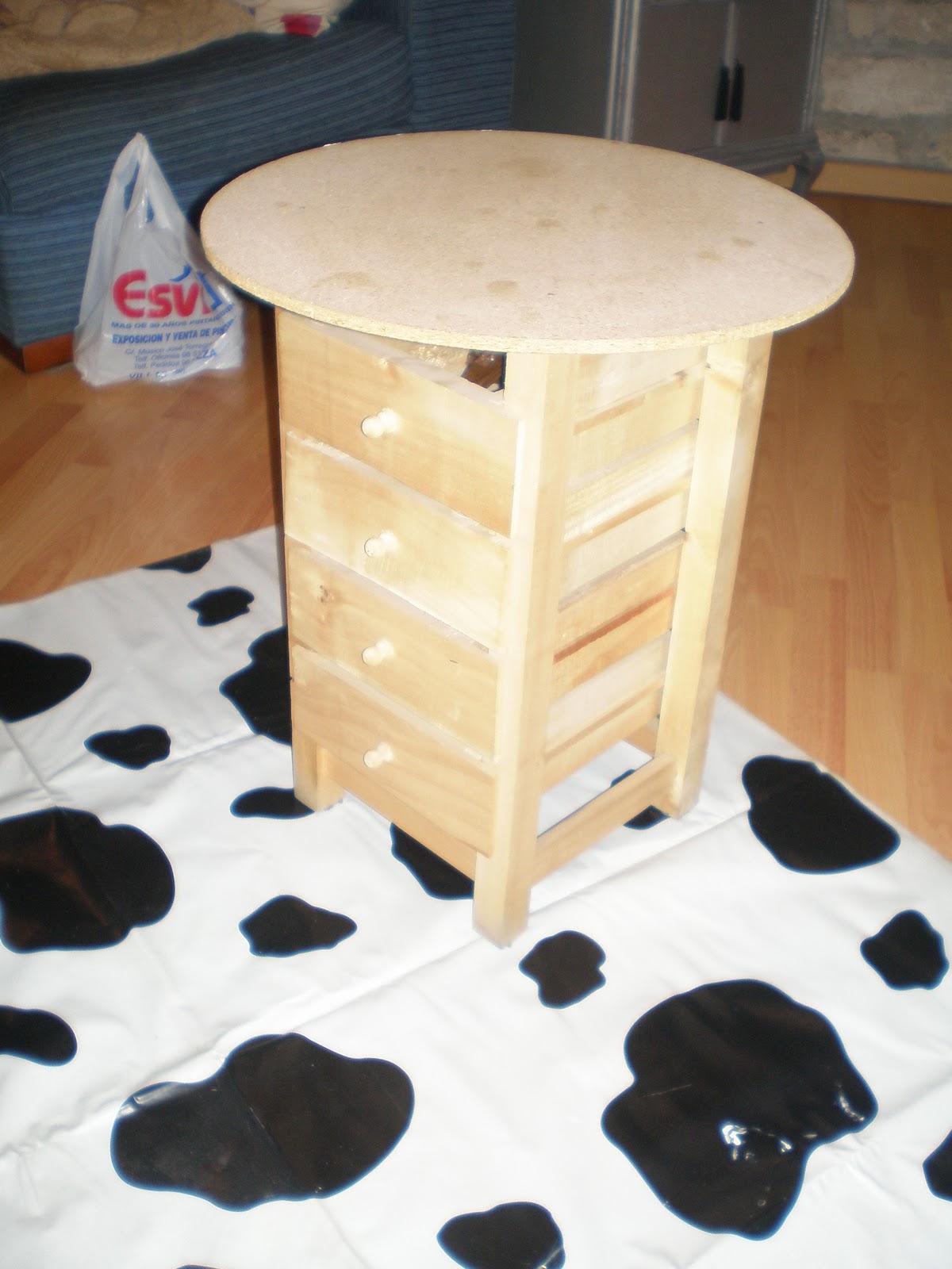 Decora facil y barato mesa camilla - Decorar mesa camilla ...