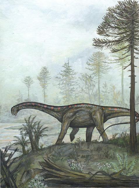 Los dinosaurios sauropodos