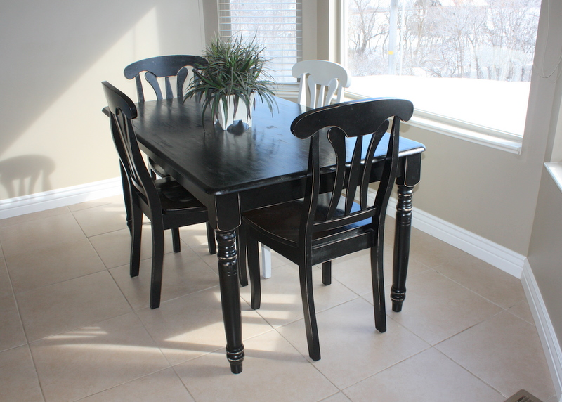 COUNTRY GIRL HOME Kitchen table refinished