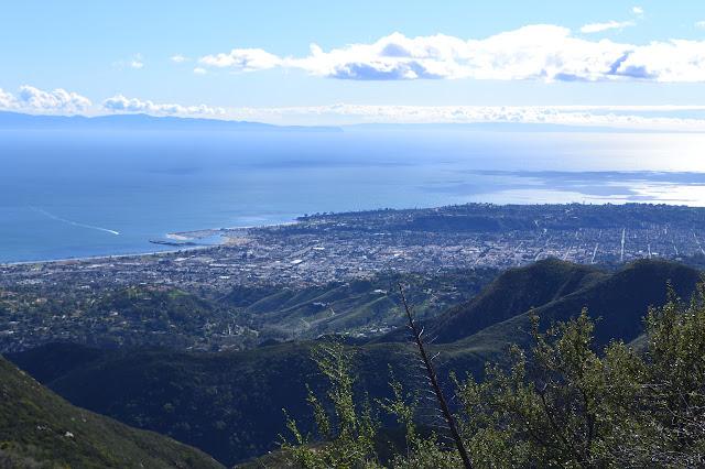 Santa Barbara and the foothills