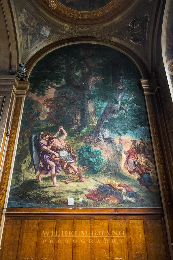 到巴黎攝影 聖敘爾比斯教堂  Saint-Sulpice