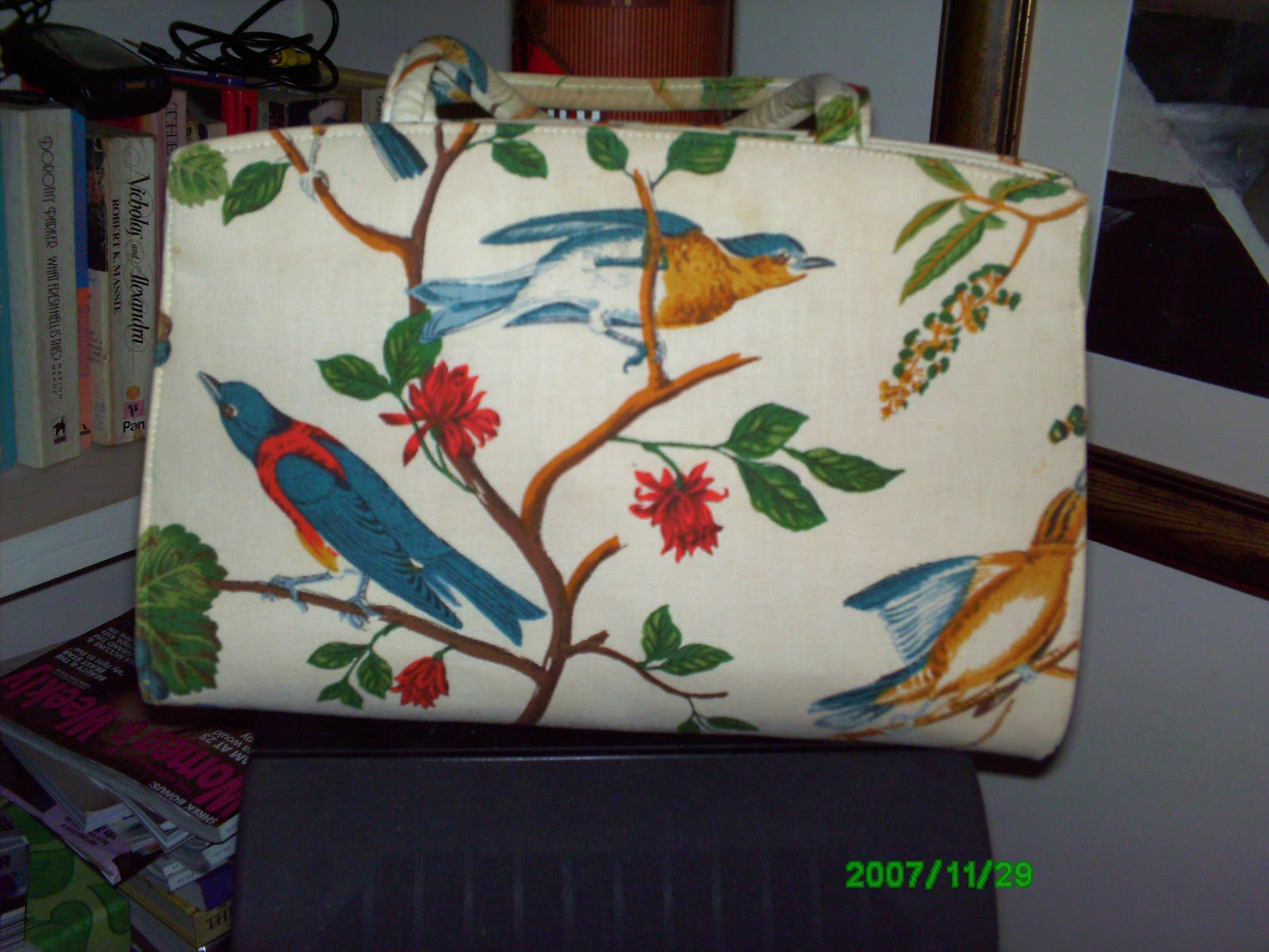 I Have A Small Collection Of Margaret Smith Gardiner Maine Handbags This Is One Them Will Be Posting More Later Bit About Her