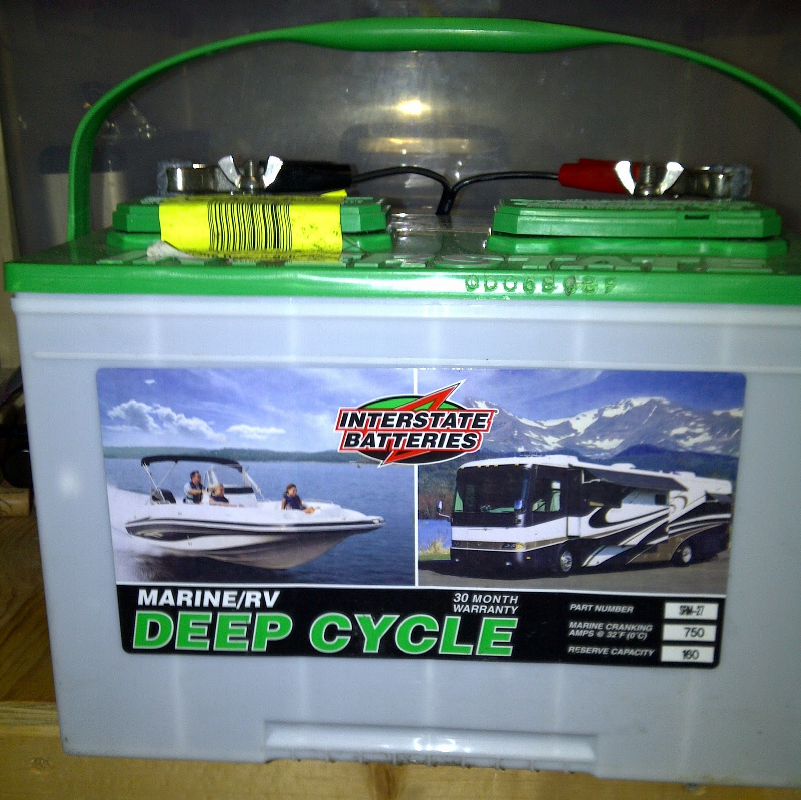 How to rv camping rv power batteries for Interstate deep cycle trolling motor battery