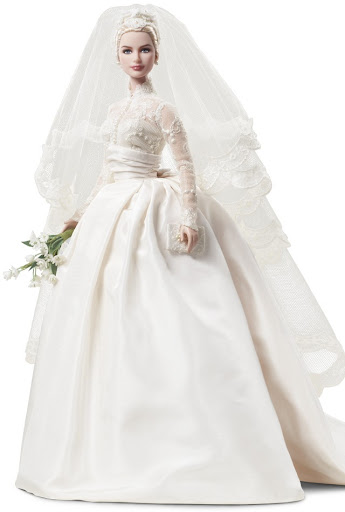 Barbie Silkstone o BFMC (Barbie Fasshion Model Collection) - Grace Kelly The Bride Doll
