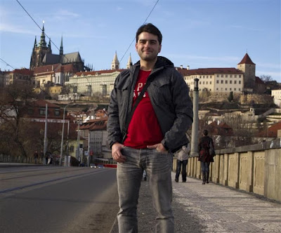 Castillo de Praga desde el Puente Libensky