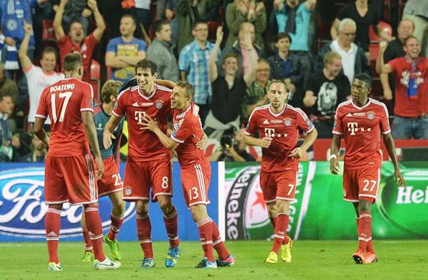Prórroga SuperCopa de Europa Bayern Munich – Chelsea