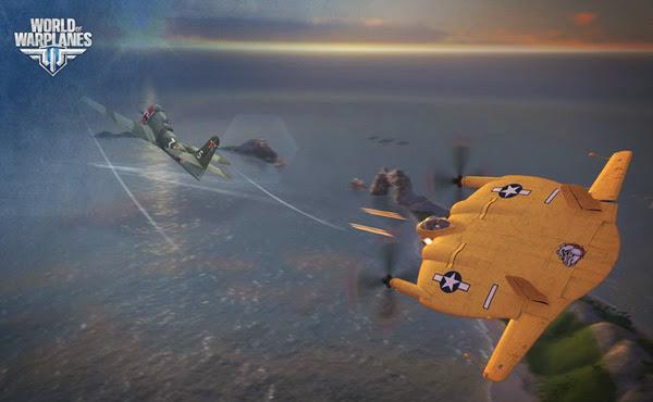 Game không chiến World of Warplanes mở cửa OBT 3