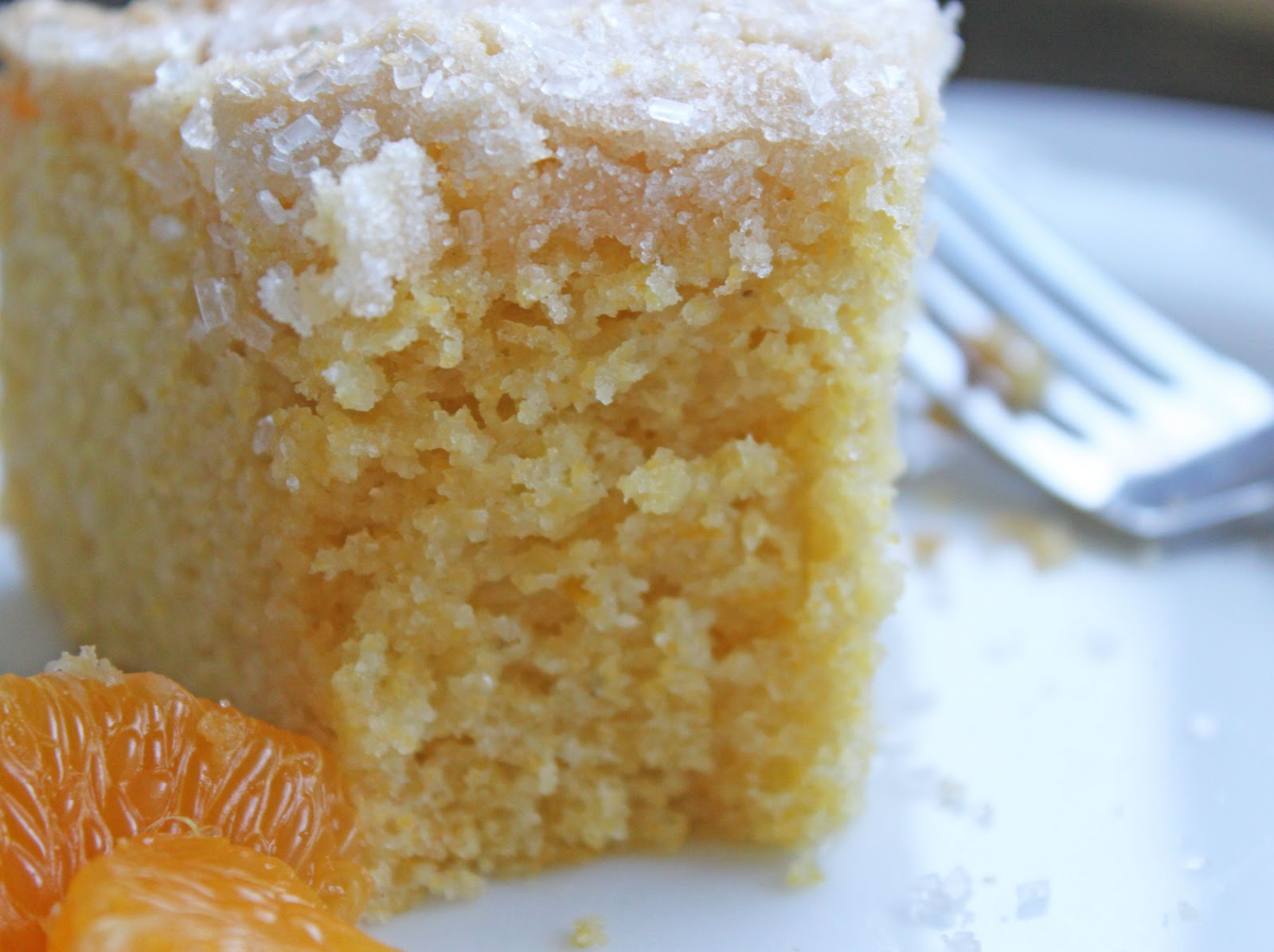 Mimi's Kitchen: Orange Cornmeal Cake