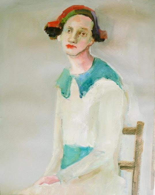 Teresa Muñoz,Pintora,Pinturas,Pintura de Teresa Muñoz,retrato Miradas