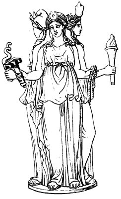 Greek Goddess Hekate Image