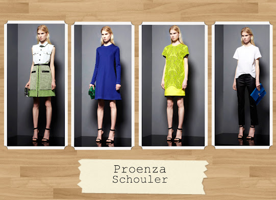 Proenza Schouler Resort Wear 2013