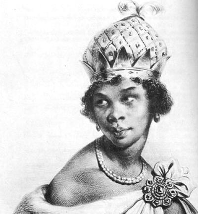 Negocio del esclavismo  a lo largo  de la historia  Photo+of+Queen+Nzinga+of+Angola