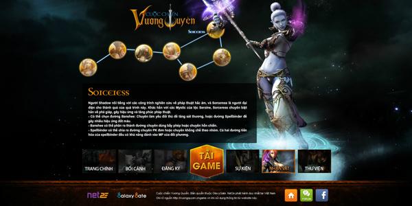 Cuộc Chiến Vương Quyền trình làng trang giới thiệu 3