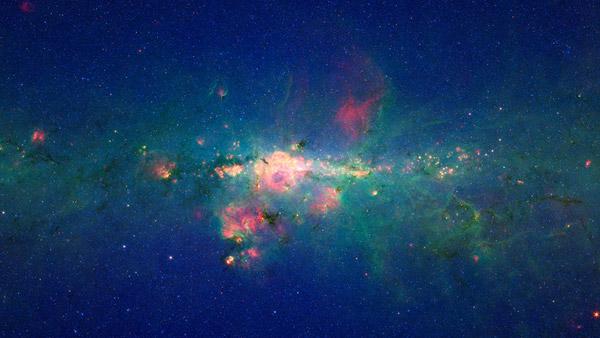 Μια νέα βελτιωμένη εικόνα του γαλαξία μας από το τηλεσκόπιο υπερύθρων  Spitzer ddbe045c68b