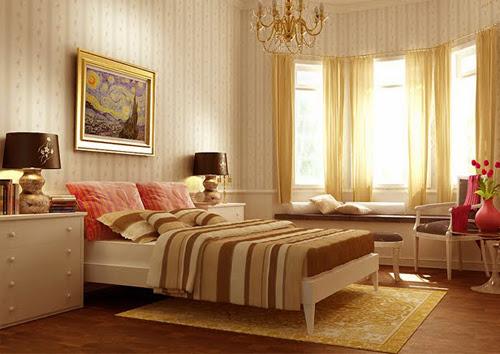 Nội thất phòng ngủ theo phong cách cổ điển