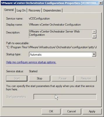 VMware vCenter Orchestrator Configuration