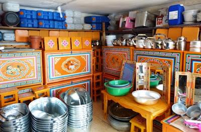 Рынок в Эрдэнэте, Монголия