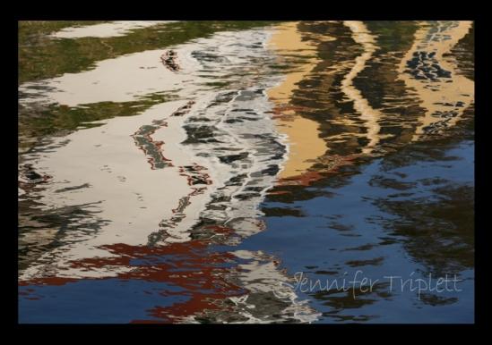 Jennifer Triplett Water Imitating Art