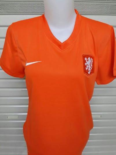Jual Jersey Wanita Belanda Piala Dunia 2014