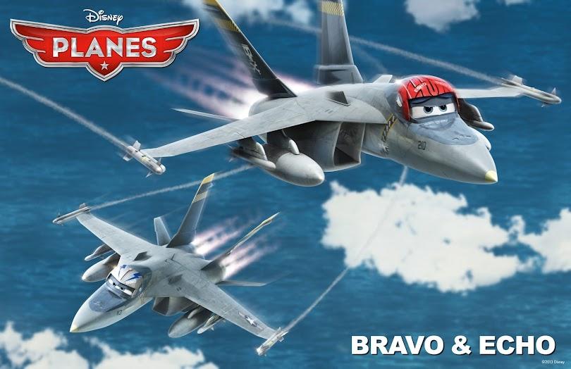 Bravo & Echo from Disney's Planes #DisneyPlanes