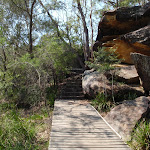 End of the Gibbergong boardwalk (118861)