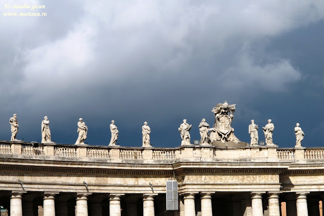 Roma. Piata Sf. Petru / Piazza San Pietro