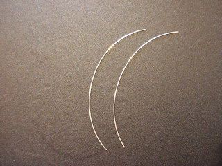 Two equal lengths of wire