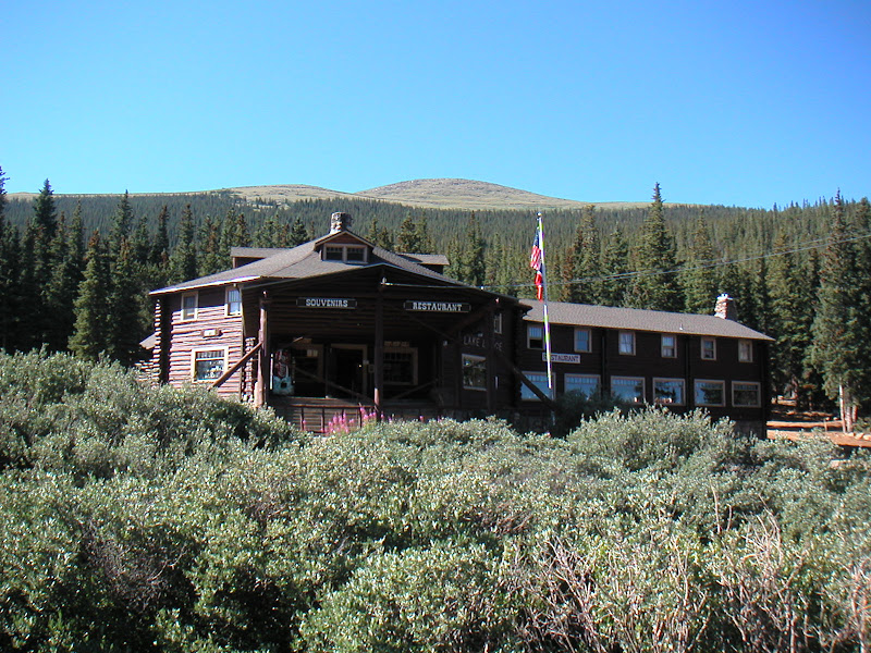 Mount Evans • Echo Lake Lodge