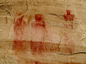 My favorite pictographs of the Ekker Panel