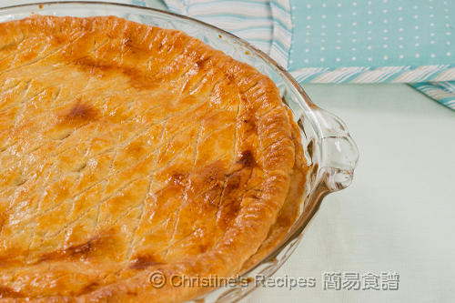 Chicken, Leek and Pea Pie02