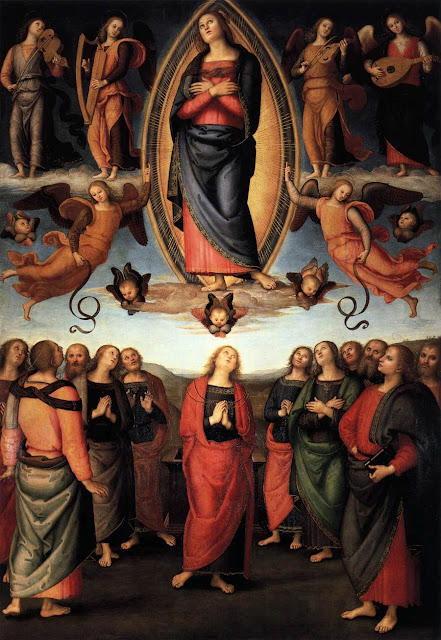 Pietro Perugino - Assumption of the Virgin