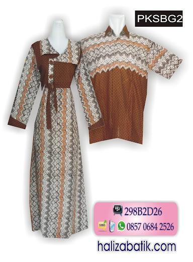 PKSBG2 Baju Batik, Muslim Sarimbit, Batik Sarimbit, PKSBG2