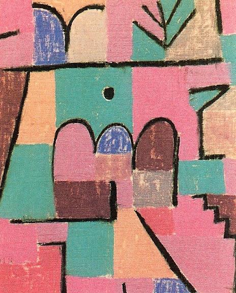 Paul Klee - Oriental garden