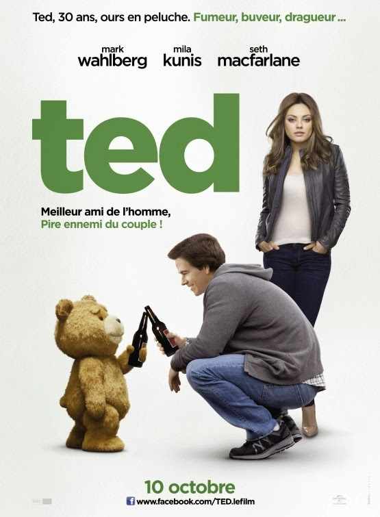 Poster Of English Movie Ted (2012) Free Download Full New Hollywood Movie Watch Online At Alldownloads4u.Com