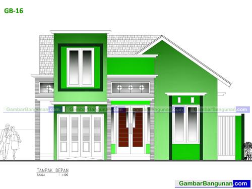 desain rumah merauke
