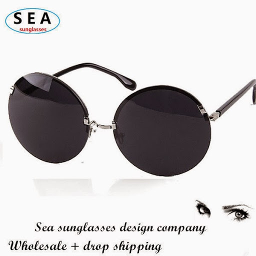 Vintage Round frame fashion sun eye glasses gafas sungl