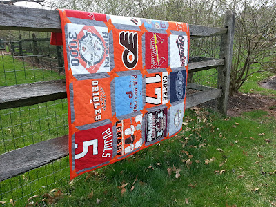 What a sports quilt!